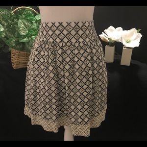 Ann Taylor Loft Cotton Skirt